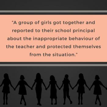 Group Of Girls Grade 8