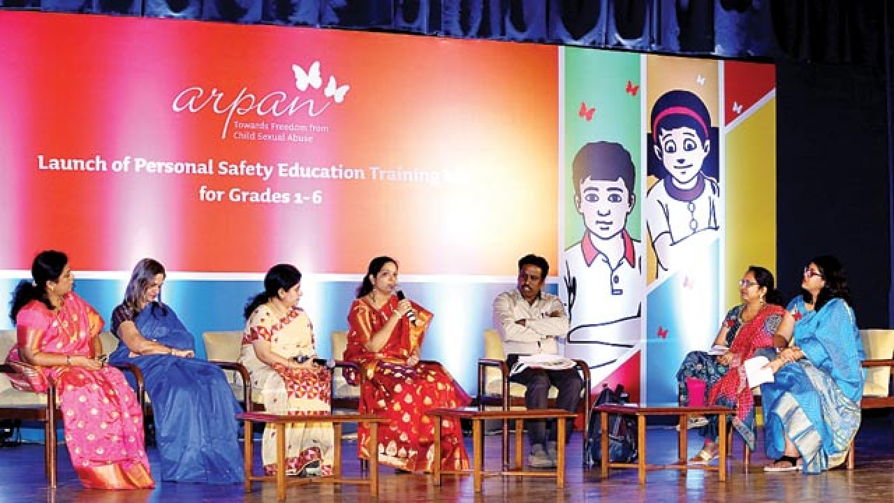 A personal safety kit to prevent child sexual abuse – DNA