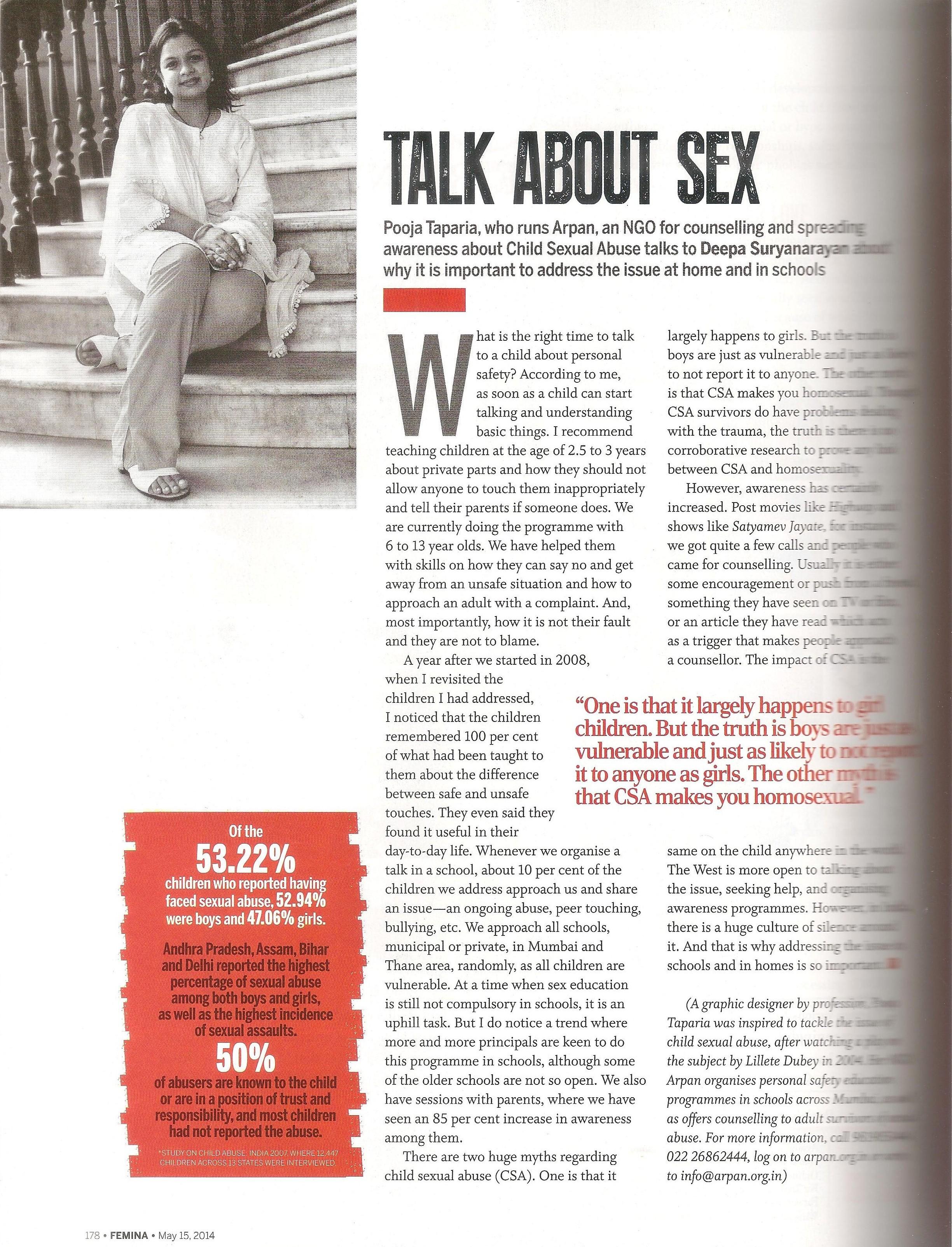 Talk About Sex – Femina