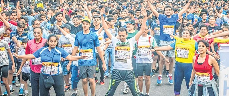 Social Responsibility Forum Marathon: Running for a good cause
