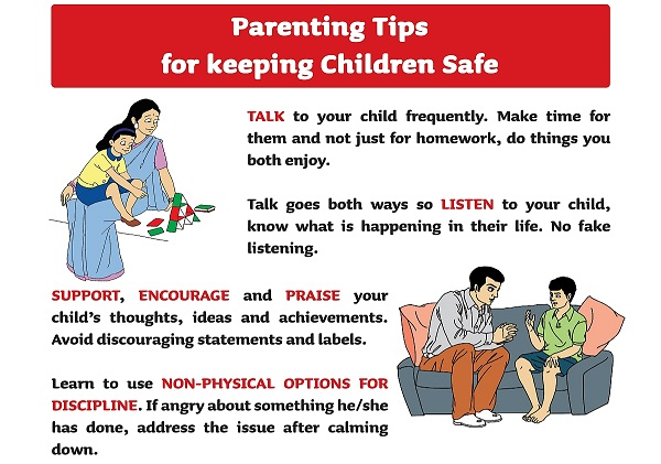 Parent Poster English