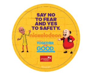 "Nickelodeon's Together For Good initiative empowers kids to say ""No to fear and yes to safety"""