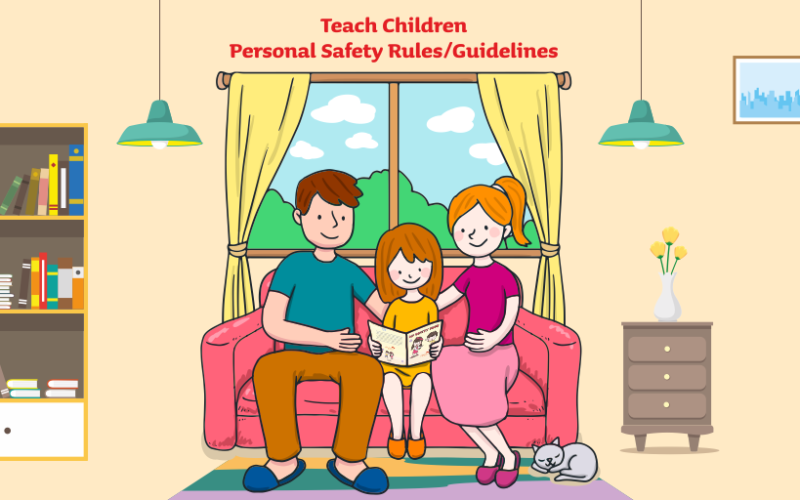 Teach Children Personal Safety Rules/Guidelines