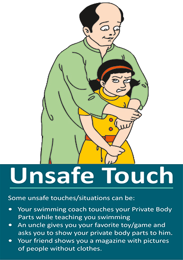 Unsafe touch