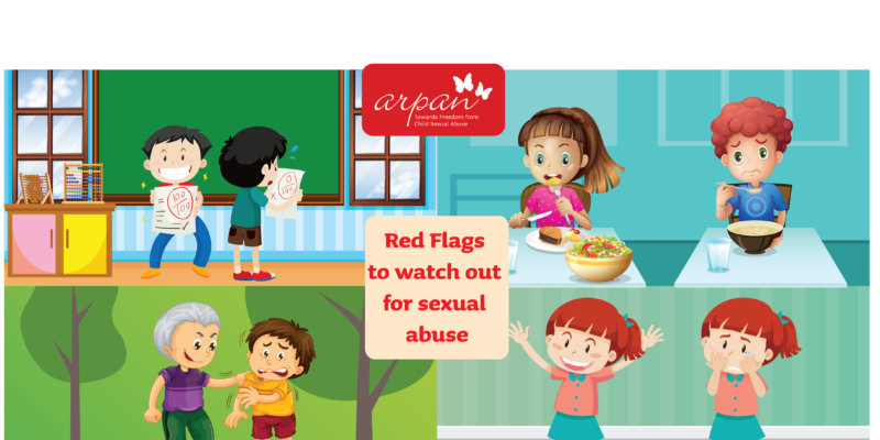 Red Flags to watch out for sexual abuse