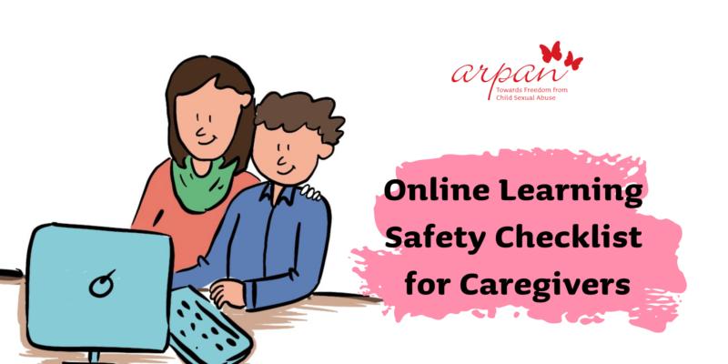 Online safety checklist for caregivers