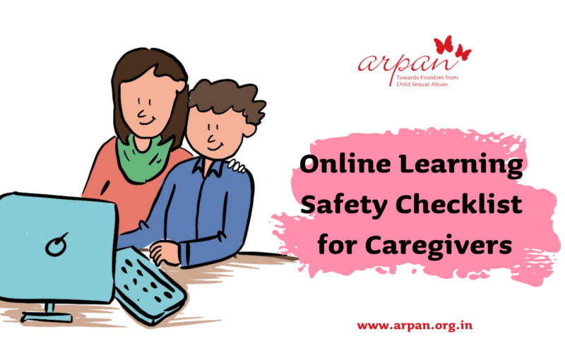 Online Learning Safety Checklist for Caregivers