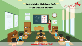Let's make children safe from sexual abuse
