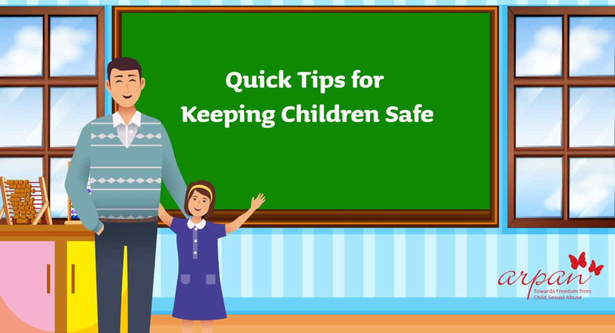 Quick Tips for Keeping Children Safe