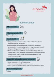 Butterfly Hug COVID-19