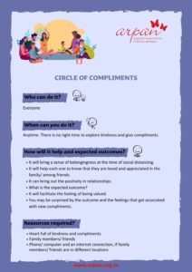 Circle of Compliments covid-19