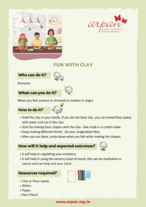 Fun With Clay COVID-19 Activity