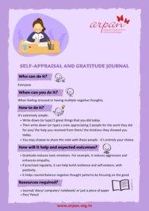 Self Appraisal & Gratitude Journal COVID-19