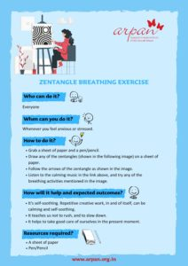 Zentangle Breathing Exercise COVID-19