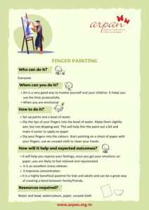 Finger Painting - COVID-19
