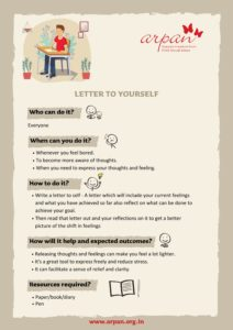 Letter to Yourself COVID-19