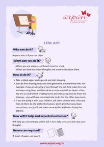 Line Art - Covid-19