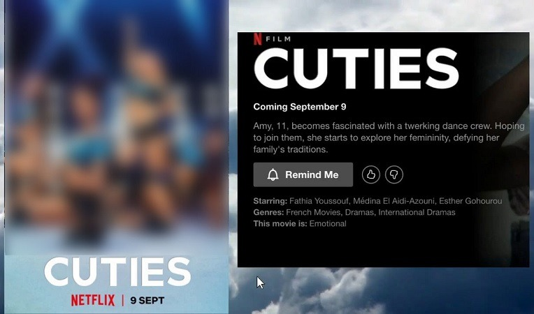 French movie 'Cuties' fails as a social commentary, Netflix needs to take it down