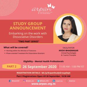Study Group Programme