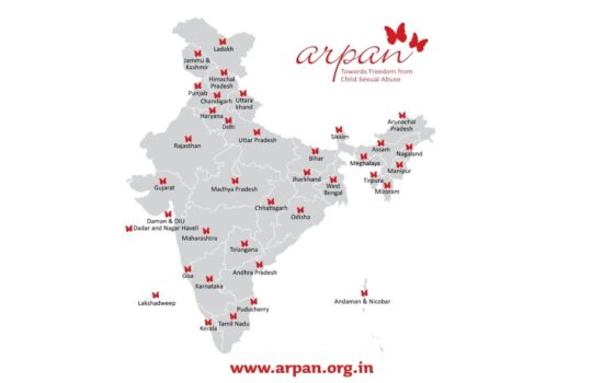 State Resource Group from across India trained on the Government's School Health Programme (Ayushman Bharat) containing Arpan's Personal Safety Messages Blog Cover